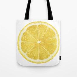 Slice of lemon Tote Bag