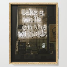 Take a Walk on the Wild Side Serving Tray