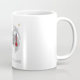 Global Climate Change Concept Error 404 Earth Not Found Text Coffee Mug