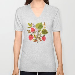 Early Summer Strawberries Are The Sweetest Unisex V-Neck