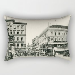 1900s Berlin Unter Den Linden Rectangular Pillow