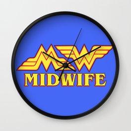 MidWife (Comic Version) Wall Clock