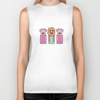 muppets Biker Tanks featuring Mahna Manha – The Muppets by Big Purple Glasses