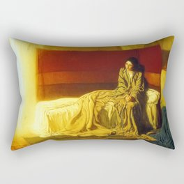 Henry Ossawa Tanner The Annunciation Rectangular Pillow