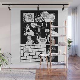 """Split Chase"" Wall Mural"