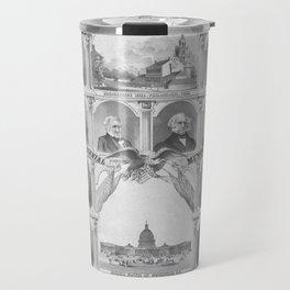 Presidents Of The United States 1776 - 1876 Travel Mug