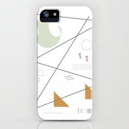Comp_004 iPhone Case