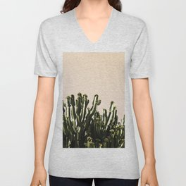 cactus nature x Unisex V-Neck