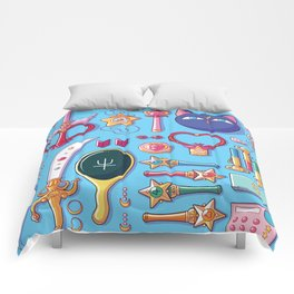 Magical Arsenal Blue Comforters