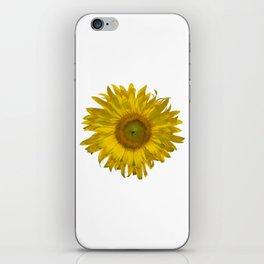 Yellow Sunflower Blossom iPhone Skin