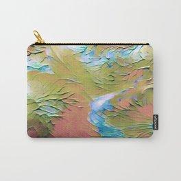 Impasto Flower Garden Carry-All Pouch