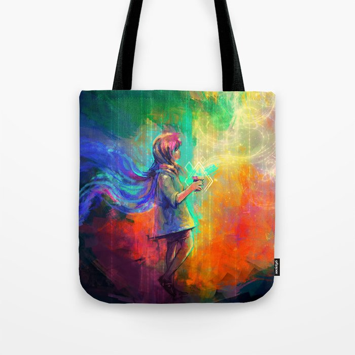 Spell of flying Tote Bag by afanur