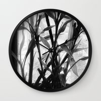 bamboo Wall Clocks featuring Bamboo by Lindzey42