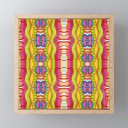 TRIPPY FEILDS Framed Mini Art Print