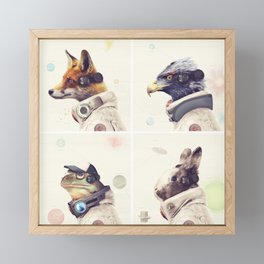 Star Team - Legends of Lylat Framed Mini Art Print