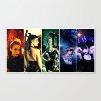 pride Canvas Prints featuring Pride by Danielle Tanimura