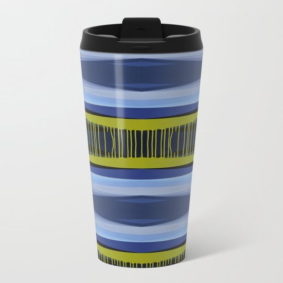 Highwayscape2 Metal Travel Mug