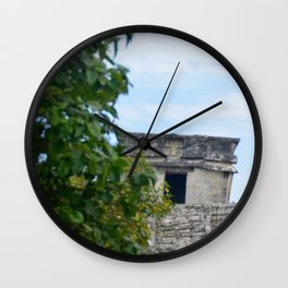 Temple of the Descending God Wall Clock