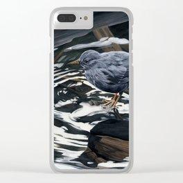 American Dipper Clear iPhone Case