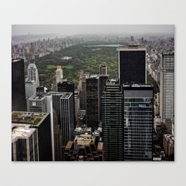 Top of The Rockefeller NYC Canvas Print
