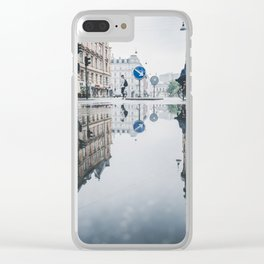 Danish Reflections 2 Clear iPhone Case