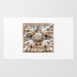 carved stone Rug