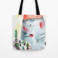cactus addict Tote Bag