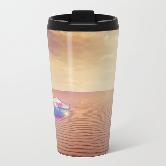 Where it is not supposed Metal Travel Mug