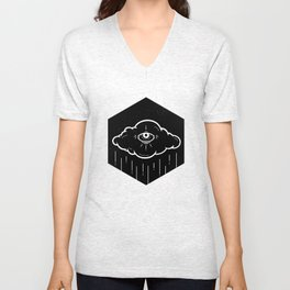 Eye Drops Unisex V-Neck