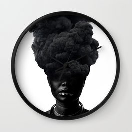 Smoke Face Wall Clock