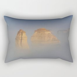 Sunrise Over The 12 Apostles Along The Great Ocean Road. Rectangular Pillow
