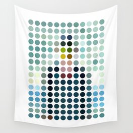 Rene Magritte Remixed Wall Tapestry