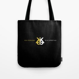 Kia Sterling is a Lifestyle G Tote Bag