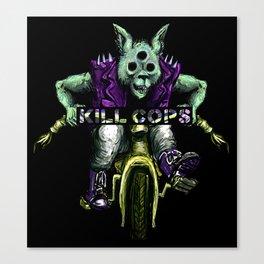 Trikewolf II Canvas Print