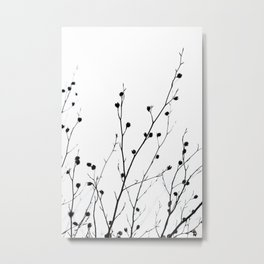 Winter Silhouettes 2 Metal Print