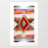 kilim Art Prints featuring Kilim by Fitz Farm