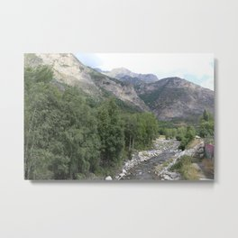 Into the river Metal Print