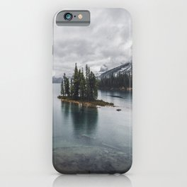 Maligne Lake Jasper Alberta iPhone Case