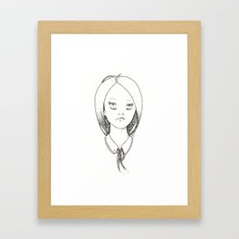 Hairtie Framed Art Print