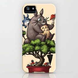 Forest Guardian Bonsai  iPhone Case
