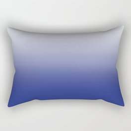 Dip Dye Ombre (blue) Rectangular Pillow