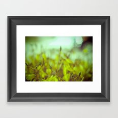 it's all yellow Framed Art Print