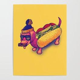 Chicago Dog Poster