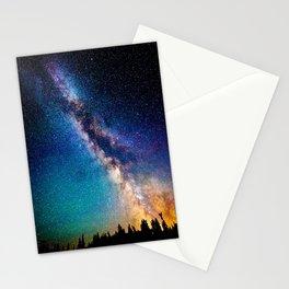 Milky Way Nights Stationery Cards