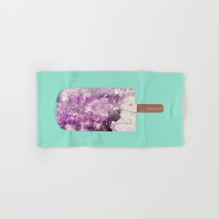 Amethyst Popsicle Hand & Bath Towel