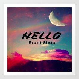 Hello - BS Art Print