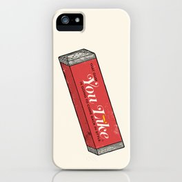 That gum you like is going to come back in style. iPhone Case