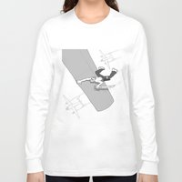 pirate Long Sleeve T-shirts featuring Pirate by Joseph Boquiren