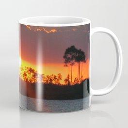 SUNSET AT GLADE LAKE Coffee Mug