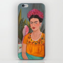 Frida a la casa azul iPhone Skin